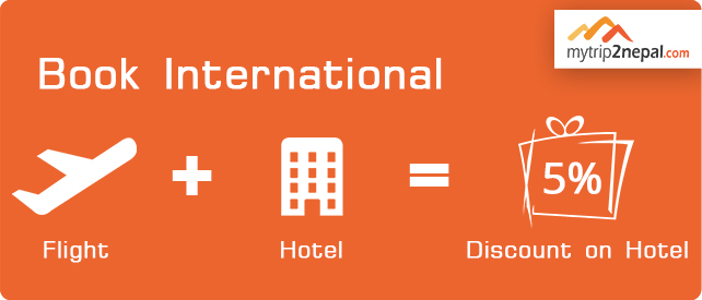 Book International Flight + Hotel & get discounts
