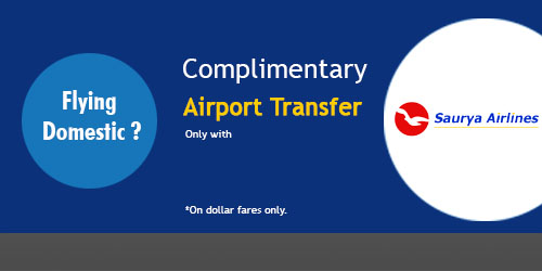 complimentary airport transfer - MyTrip2Nepal