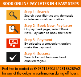 Our Steps to Book Flight Tickets Online - MyTrip2Nepal